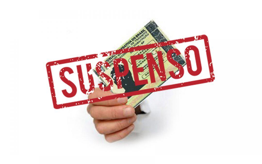 Cancelamento da Suspenção da CNH pela Nova Lei de Trânsito.